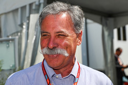 Chase Carey, director de Formula One Group