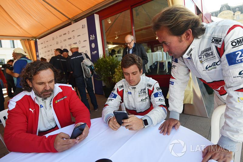 Thomas Flohr, Francesco Castellacci, Olivier Beretta, Spirit of Race