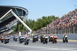 Marc Marquez, Repsol Honda Team au départ