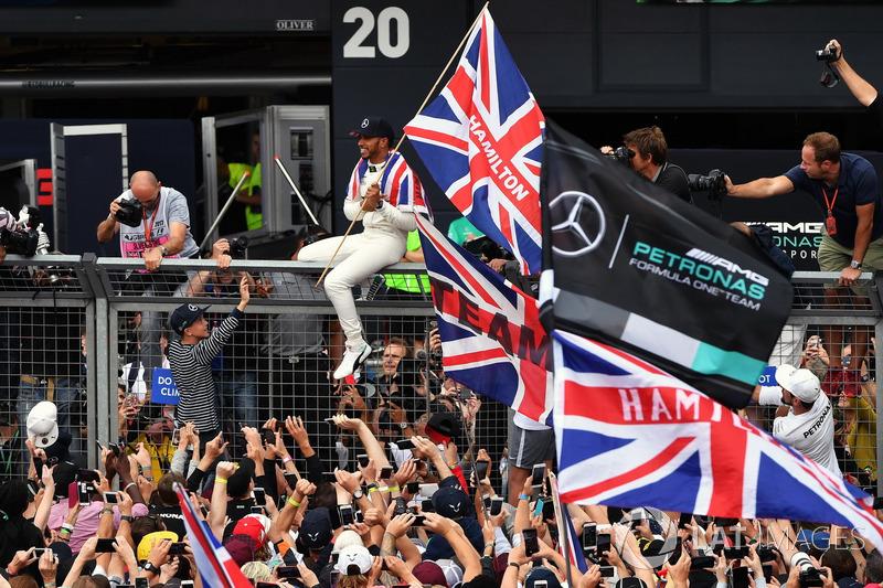 57- GP da Grã-Bretanha 2017, Mercedes