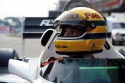 Ayrton Senna, Williams FW08C ile ilk testi öncesinde