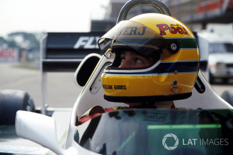 Ayrton Senna, was to test the Williams FW08C for the first time