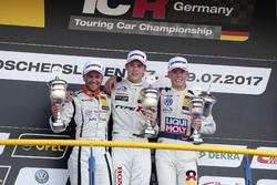 Podium: 1. Moritz Oestreich, Honda Team ADAC Sachsen, Honda Civic Type R-TCR, 2. Pascal Eberle, Stei