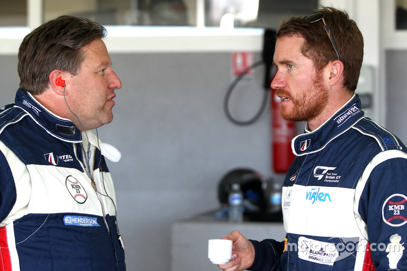 Zak Brown, Brian Vickers