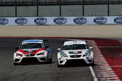 Daniele Cappellari, Seat Leon Racer-TCR e Alberto Viberti, Seat Leon Racer S.G.-TCR