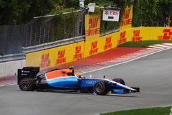 Rio Haryanto, Manor Racing MRT05 s'accidente