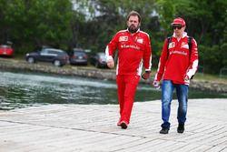 Kimi Raikkonen, Ferrari con Gino Rosato, Ferrari