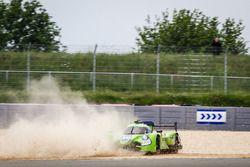 #40 Krohn Racing Ligier JS P2 Nissan: Tracy Krohn, Nic Jonsson, Joao Barbosa, pierde el control