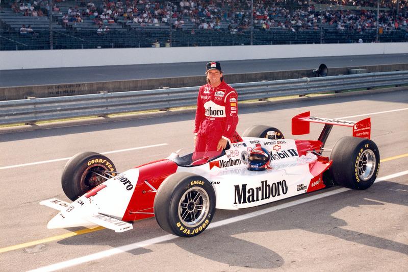 #77 Emerson Fittipaldi 1993