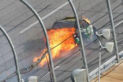 Blake Koch, Chevrolet crash