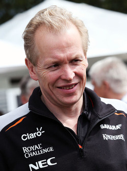 Andrew Green, Sahara Force India F1 Team, Technischer Direktor