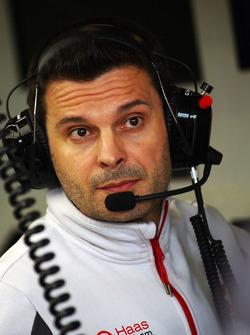Giuliano Salvi, Haas F1 Team, Renningenieur