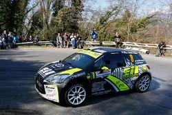 Rudy Michelini e Michele Perna, Citroen DS3 R5, Procar Motrosport