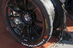Neumático roto