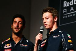 Daniil Kvyat and Daniel Ricciardo, Red Bull Racing