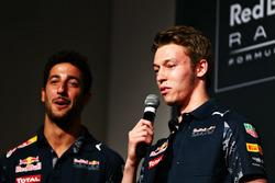 Daniil Kvyat et Daniel Ricciardo, Red Bull Racing