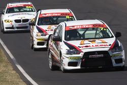 Jim Pollicina, Simon Evans, John O'Dowd, Mitsubishi Lancer EVO X RS