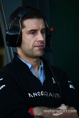 Ed Regan,Ingeniero de carrera Manor Racing