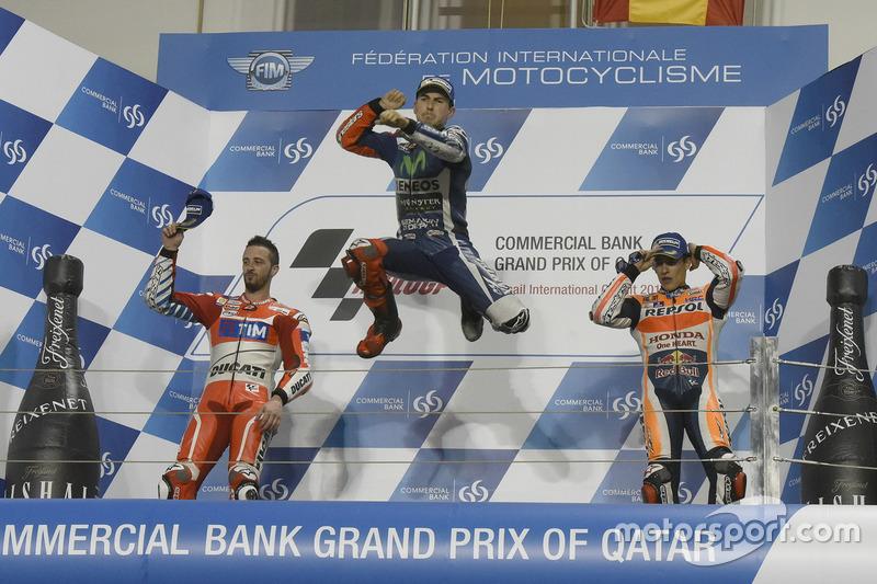 Podio: Jorge Lorenzo, Movistar Yamaha MotoGP, Yamaha