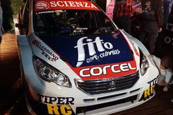 El Peugeot 408 de Lucas Benamo en la Escudería FE