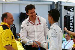Frederic Vasseur, Renault Sport F1 Team, Renndirektor Toto Wolff, Mercedes AMG F1 Sportchef und Pasc