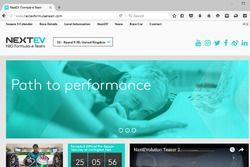 NextEV TCR, nuovo sito Web
