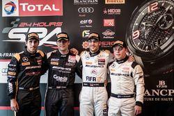 Superpole, Black Falcon, Mercedes-AMG GT3: Daniel Juncadella, HTP Motorsport, Mercedes-AMG GT3: Clem