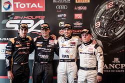 Superpole, Black Falcon, Mercedes-AMG GT3: Daniel Juncadella, HTP Motorsport, Mercedes-AMG GT3: Clemens Schmid, AMG-Team HTP Motorsport, Mercedes-AMG GT3: Maximilian Götz, AMG-Team AKKA ASP, Mercedes-AMG GT3: Felix Rosenqvist