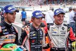Sieger Lando Norris, Josef Kaufmann Racing, 2. Platz Dorian Boccolacci, Tech 1 Racing, 3. Platz Jeha