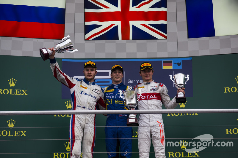 Alex Lynn, DAMS, Sergey Sirotkin, ART Grand Prix and Arthur Pic, Rapax