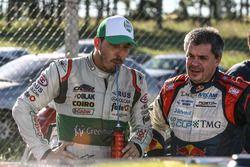 Former F1 drivers, Gaston Mazzacane, Coiro Dole Racing Chevrolet y Norberto Fontana, Laboritto Jrs Torino