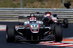 George Russell, HitechGP, Dallara F312 - Mercedes-Benz; Nikita Mazepin, HitechGP, Dallara F312 - Mer