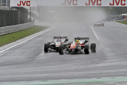 Maximilian Günther, Prema Powerteam Dallara F312 – Mercedes-Benz, George Russell, HitechGP Dallara F