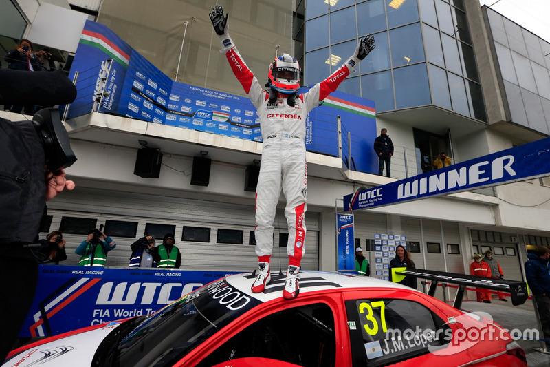 Ganador de la carrera José María López, Citroën World Touring Car Team, Citroën C-Elysée WTCC