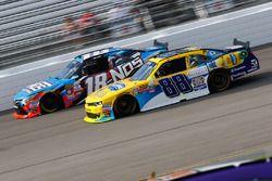 Dale Earnhardt Jr., JR Motorsports Chevrolet, Matt Tifft, Joe Gibbs Racing Toyota