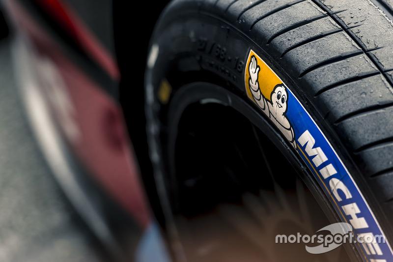 Michelin tyre detail