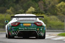 #66 Racing for Children's Maserati GranTurismo MC Trofeo: Clint Guthrie