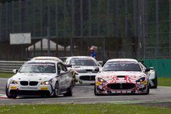 André Grammatico, BMW Espace Bienvenue, BMW M3 GT4; Piotr Chodzen, Villorba Corse, Maserati GranTurismo MC GT4