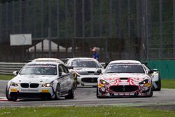 André Grammatico, BMW Espace Bienvenue, BMW M3 GT4; Piotr Chodzen, Villorba Corse, Maserati GranTuri