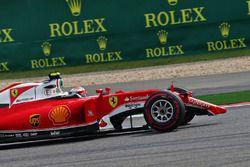 Kimi Räikkönen, Ferrari SF16-H, mit gebrochenem Frontflügel