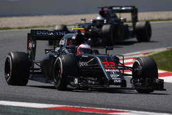 Jenson Button, McLaren MP4-31 voor Fernando Alonso, McLaren MP4-31