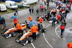 Prestart, Mikkel Jensen, kfzteile24 Mücke Motorsport, Dallara F312 - Mercedes-Benz, David Beckmann, kfzteile24 Mücke Motorsport, Dallara F312 - Mercedes-Benz