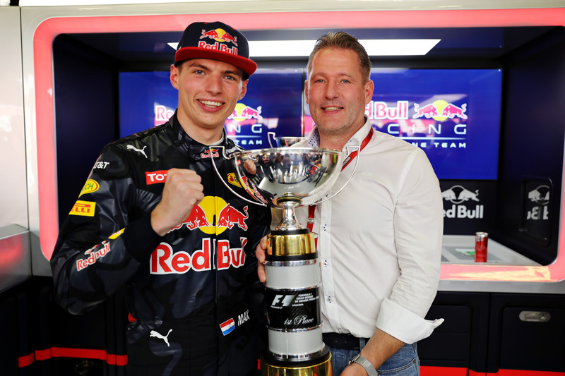 F1: Max Verstappen e Jos Verstappen.