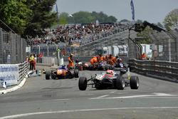 Unfall: Nikita Mazepin, HitechGP, Dallara F312– Mercedes-Benz