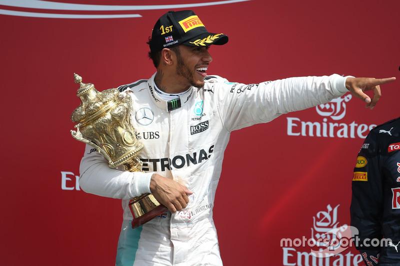 Yarış galibi Lewis Hamilton, Mercedes AMG F1 W07 Hybrid