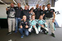 Pole position LMP2 y LMP3: #23 Panis Barthez Competition Ligier JS P2 Nissan: Fabien Barthez, Timoth