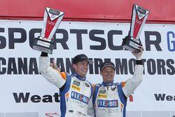 PC winnaars #54 CORE autosport Oreca FLM09: Jon Bennett, Colin Braun