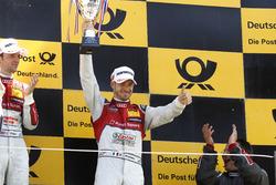 Podium : le troisième Edoardo Mortara, Audi Sport Team Abt Sportsline, Audi RS 5 DTM