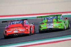 Mattia Drudi, Dinamic Motorsport - Modena e Enrico Fulgenzi, TAM-Racing, in lotta per la posizione
