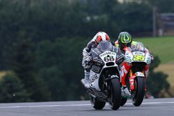 Yonny Hernandez, Aspar MotoGP Team and Cal Crutchlow, Team LCR Honda